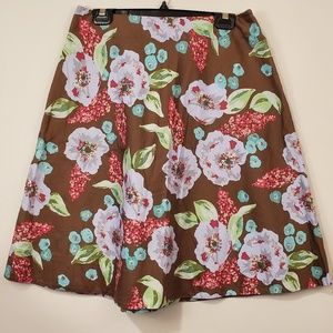 Context petite embellished floral skirt size 10p